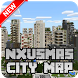 New NXUSMAS City Map for Minecraft PE by New Map MCPE