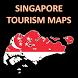 Singapore Tourism Maps by PhD Math