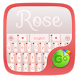 Rose GO Keyboard Theme