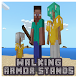 Walking Armor Stands Addon for MCPE by MartikModsInc