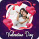 Valentine Day Photo Editor 2018 - Love frames 2018 by Photo Video Maker With Music
