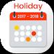 Indian Holiday Calendar 2017-2018 by Bani International