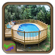 Wood Pool Fence Design by Syclonapps