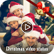 Christmas and New Year Video Status for Whatsapp by Photo Video Editor Tools Mixer