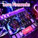 Purple Love Keyboard Theme by Theme Lovely