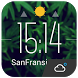 Floating clock weather today by Weather Widget Theme Dev Team