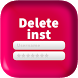 Delete Account for inst by Dinozor Apps