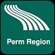 Perm Region Map offline by iniCall.com