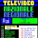 Televideo Nazionale Regionale by Davide Ruffolo