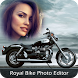 Royal Bike Photo Frame Editor by Photo App Lounge
