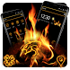 Black Fire Theme by Best Cool Theme Dreamer