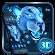 3D Neon Snow Leopard Theme by Elegant Theme
