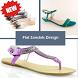 Flat Sandals Design by DIY Tech Studio