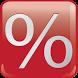Percentage calculator by Илья Ковалев Игоревич