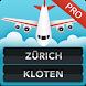 Zurich Kloten Airport ZRH Pro by FlightInfoApps.com