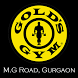Gold's Gym M.G Road by Antkraft Innovations