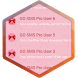 Pink Bow SMS Theme by Super Themes