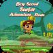 Boy Scout Surfer Adventure Run by <ArtCode/>