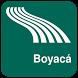 Boyacá Map offline by iniCall.com