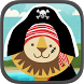 Pirate Preschool Puzzle Game by Scott Adelman Apps Inc