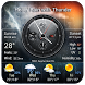 live weather and clock widget by