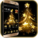 Christmas Tree Gold Theme by Little Cat