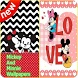 Mickey And Minnie Mouse Wallpapers by Miu Studio