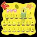 Cute Bob Keyboard Theme by cool wallpaper