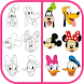 How To Draw Mickey Mouse by Learn How to Draw for Kids