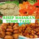 10+ Resep Tempe Tahu by HM Dev