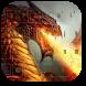 Devil Fire Dragon Keyboard by livewallpaperjason