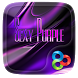 SEXY PURPLE GO Launcher Theme by ZT.art
