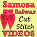 SAMOSA Salwar Cutting and Stitching Videos App by SEWING VIDEO Tutorial Apps to Cut & Stitch Clothes
