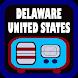 Delaware USA Radio by Enkom Apps