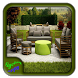 Wooden Garden Sofa Design by Syclonapps