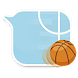 GO SMS basketball bubble Theme by saytwo