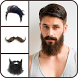Mustache Beard And Men Hairstyle by The Fashion Art