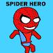 Spider Hero Man Jump Slide by Headlines
