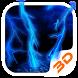 Lightning Storm Tech 3D Theme by Launcher 3D Pro