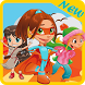 Super Hero Girl Adventure Bros by PlaySmartStudio Inc