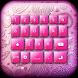 Custom Keyboard Color Pink by Monte Prestigio Inc