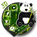 3D Cartoon Panda Lovely Theme by Elegant Theme