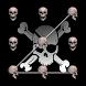 Skull Pattern Lock Screen Free