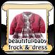beautiful baby frock & dress by LightspeedApps