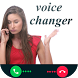 call voice change by sarahah app