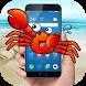 crab in phone joke by mandgFunny