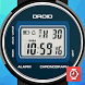 DROID Retro LCD watch face by Veertualia