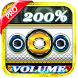Volume Booster Pro Max 2018 by True Tools Apps Studio (Media Games & Beats), Inc