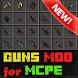 Guns Mod for Minecraft by Gq mods studio