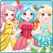 Princess dress up salon by LPRA STUDIO